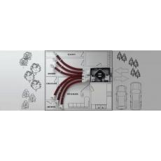 Система інфільтрації та вентиляції житла за допомогою системи ACIO VENTILATION