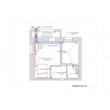 Централізована вентиляція однокімнатної квартири системою Vents Flexivent