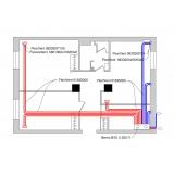 Централізована вентиляція трикімнатної квартири системою Vents Flexivent
