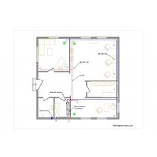 Централізована система вентиляції для салону краси, площею 95 кв.м.