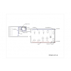 Приточно-витяжна система вентиляції для спортзалу площею 110 кв.м