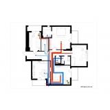 Централізована вентиляція чотирикімнатної квартири системою Vents Flexivent