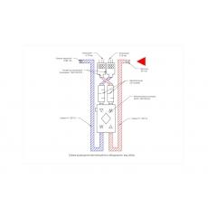 Централізована вентиляція трикімнатної квартири системою Vents Flexivent на базі вентиляційної установки з роторним рекуператором