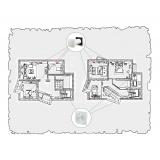 Комплект децентралізованої вентиляції для індивідуального будинку (с. Хоросно)