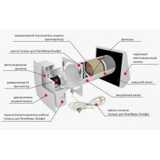 Комплект децентралізованої вентиляції для  будинку ( триповерховий, тип 1 )