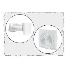 Комплект децентралізованої вентиляції для будинку (одноповерховий, тип 3)