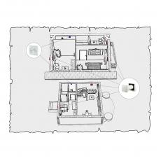 Децентралізована вентиляція будинку на основі Твін Фрешу по проекту z1