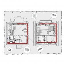 Приточна вентиляція будинку по проекту z1