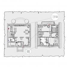 Природна вентиляція будинку по проекту z1