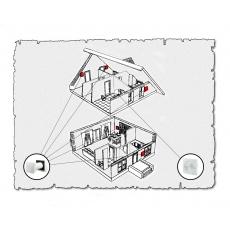 Комплект децентралізованої вентиляції для будинку  ( двоповерховий, тип 1 )