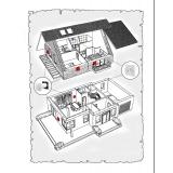 Комплект децентралізованої вентиляції для будинку ( двоповерховий, тип 2 )