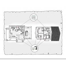 Природна вентиляція для  будинку ( двоповерховий, тип 2 )