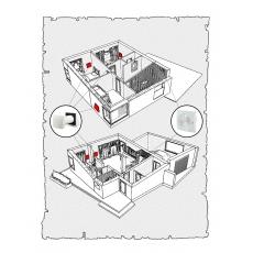 Комплект децентралізованої вентиляції для  будинку  ( двоповерховий, тип 4 )