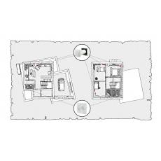 Природна вентиляція для  будинку ( двоповерховий, тип 4 )