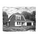 Природна вентиляція для  будинку ( двоповерховий, тип 5 )