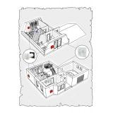 Комплект децентралізованої вентиляції для будинку ( двоповерховий, тип 5 )