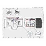 Комплект централізованої вентиляції для індивідуального будинку тип 4.