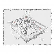 Децентралізована вентиляція будинку на основі Мікра 60 по проекту z10
