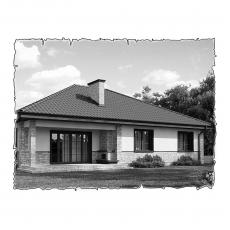 Централізована вентиляція будинку по проекту z10