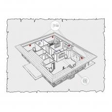 Природна вентиляція будинку по проекту z10
