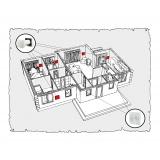 Комплект децентралізованої вентиляції для дому (одноповерховий, тип 1)