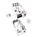Комплект децентралізованої вентиляції для ЖК Перший Парковий (м. Хмельницкий)