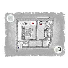 Комплект децентралізованої вентиляції для однокімнатної квартири вул. Врубеля, 15 (м. Львів)