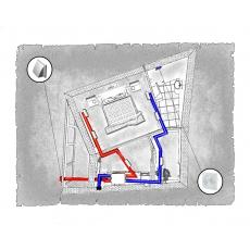 Комплект централізованої вентиляції для однокімнатної квартири ЖК Перспектива (м. Івано-Франківськ)