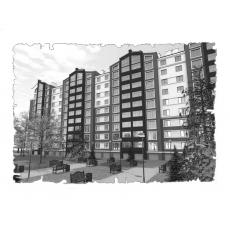 Природна вентиляція  квартири на вул. Мазепи  м. Івано-Франківськ ( однокімнатна )