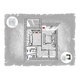 Децентралізована вентиляція  квартири на вул. Мазепи  м. Івано-Франківськ ( однокімнатна )