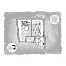 Комплект децентралізованої вентиляції для однокімнатної квартири  (м. Полтава  вул. Панянка )