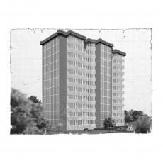 Децентралізована вентиляція  квартири  ЖК Естетика м. Хмельницький ( однокімнатна )