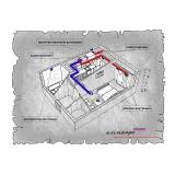 Централізована вентиляція квартири ЖК LOFT 47 Perfect, м. Львів  ( однокімнатна )