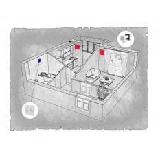 Децентралізована вентиляція  квартири ЖК Резиденція, м. Вінниця ( однокімнатна )