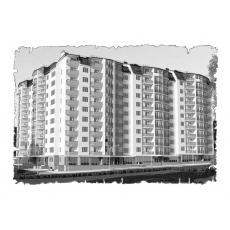 Природна вентиляція  квартири ЖК Санта Нова  м. Львів ( однокімнатна )