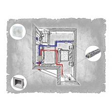Централізована вентиляція  квартири ЖК Санта Нова  м. Львів ( однокімнатна )