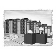 Природна вентиляція  квартири ЖК Відродження, м. Луцьк ( однокімнатна )