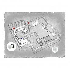 децентралізована вентиляція  квартири ЖК Срібні озера м. Хмельницький ( однокімнатна )