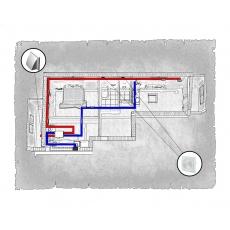 Комплект централізованої вентиляції для двокімнатної квартири за адресою Львів, Червоної Калини (Сихів)