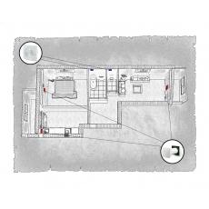 Комплект децентралізованої вентиляції для двокімнатної квартири за адресою Львів, Червоної Калини (Сихів)
