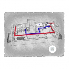 Централізована вентиляція  квартири  вул. Старобілоуська  м. Чернігів ( двокімнатна )