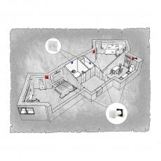 Децентралізована  вентиляція  квартири ЖК Галактика м. Чернівці ( двокімнатна )