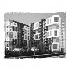 Централізована  вентиляція  квартири ЖК Галактика м. Чернівці ( двокімнатна )