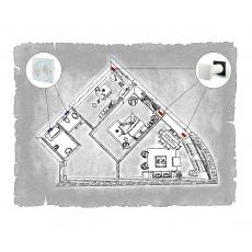 Комплект децентралізованої вентиляції для двокімнатної квартири  (м. Донецьк  вул. Ілліча )