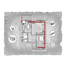 Приточна вентиляція квартири по вул. Коновальця-Черняка  м. Рівне ( двокімнатна )