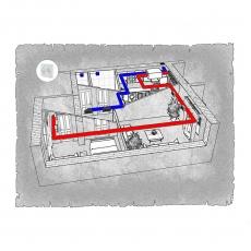 Централізована вентиляція  квартири по вул. Коновальця-Черняка  м. Рівне ( двокімнатна )