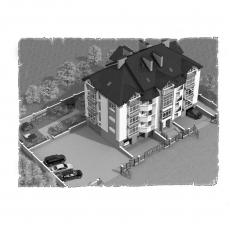 Централізована вентиляція  квартири ЖК Гостинний дім м. Луцьк ( двокімнатна )