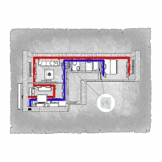Централізована вентиляція  квартири  мікрорайон «Масани – 3» м. Чернігів ( двокімнатна )