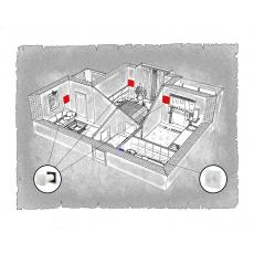 Комплект децентралізованої вентиляції для двокімнатної квартири  (м. Івано-Франківськ, вул. Стуса )