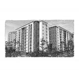 Комплект природної вентиляції для двокімнатної квартири  (м. Івано-Франківськ, вул. Стуса )